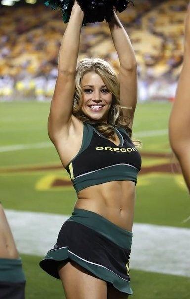 Sexy college cheerleaders having sex