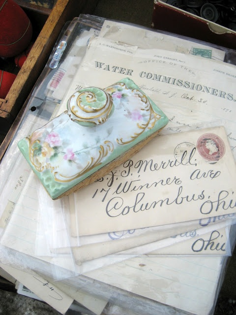 Some of mine were addressed to Columbus.Vintage Ephemera, 52 Fleas, Old Letters, Ana Rosa, Fleas Marketing, China Stamps, Grandma Tattoo, Boxes Mail Stamps, Antiques