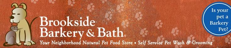 Brookside Barkery & Bath | Your Neighborhood Natural Pet Food Store, Self-Service Pet Wash & Grooming