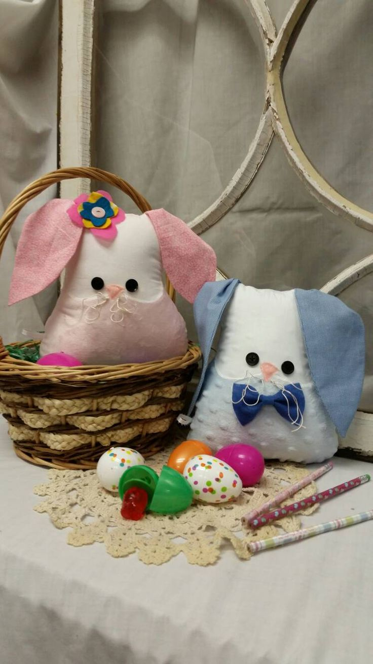 43 best images about sea bunny on pinterest bunny slippers slug and - Easter Suprise Box Bunny Pillow Easter Basket Easter Bunny Whimsical Pillow Easter Gift Woodland Creature