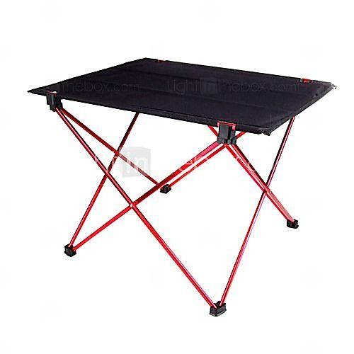 Draagbare Opvouwbaar Opvouwbare Tafel Bureau Camping Outdoor Picnic 7075 Aluminium Ultra-light - EUR € 19.59