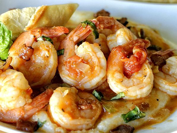 Shrimp and Grits. I first ate this at the Bucktown Seafood Festival in ...