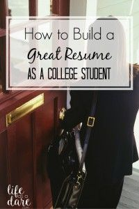 College presents tons of great opportunities to bolster your resume, so here are some great resume tips to make your application stronger than ever!