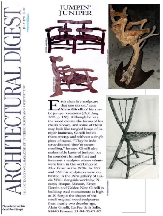 AD Magazine  Architectural Digest. Architecture, Décoration, Arts et Design AD is the international design authority, featuring the work of top architects ... Print All Over Me partners with artists at this year's Art Basel Miami Beach ... Event designer Bronson van Wyck shares his tips for creating gold-leafed holiday decor.
