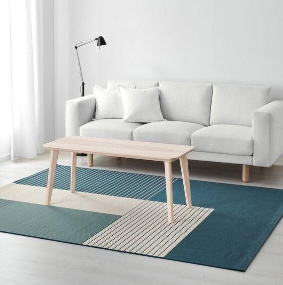 tapis tisse plat tapis tendance