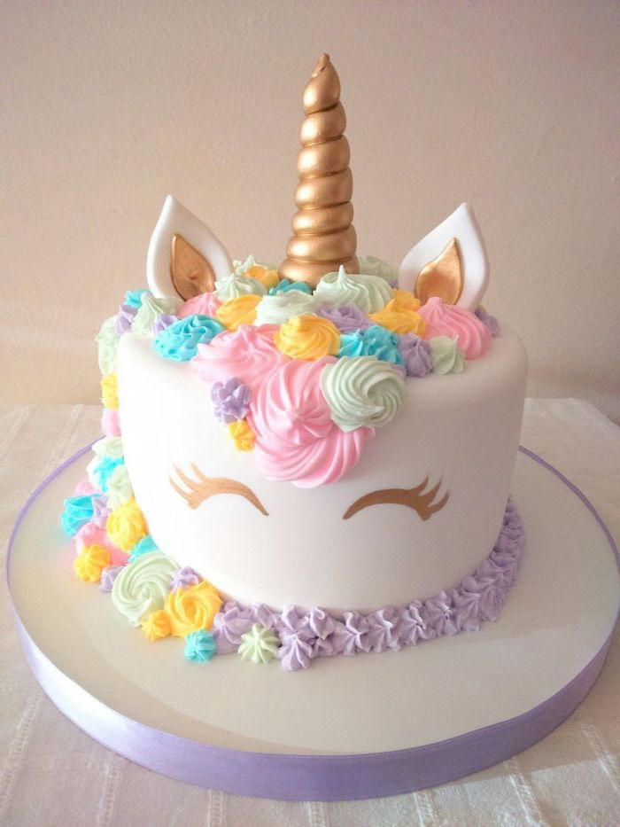 Outstanding 1001 Ideas How To Make A Unicorn Cake Recipe And Pictures Funny Birthday Cards Online Barepcheapnameinfo