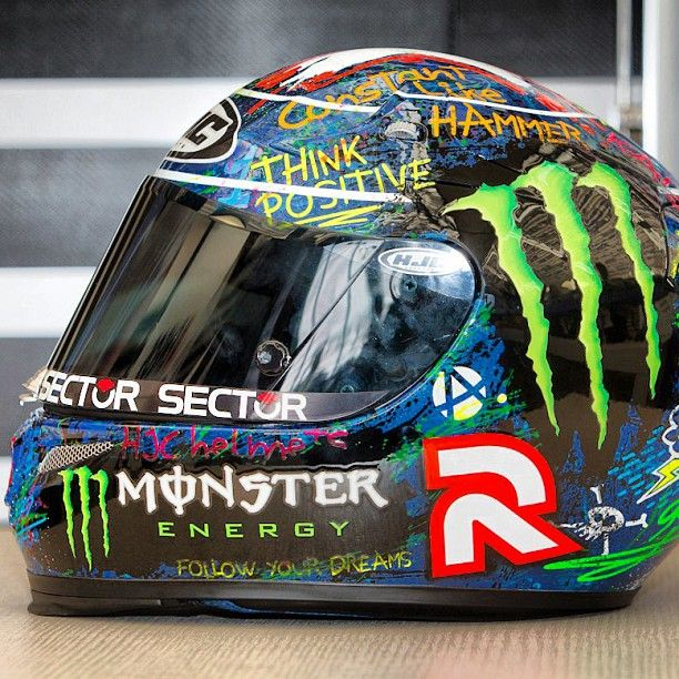 motogp's photo----jorge lorenzo special helmet designed for Catalunya
