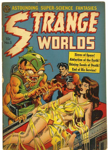 Wally Wood | Strange Worlds #5 | Avon | 1951