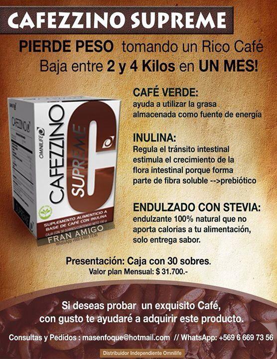 Cafezzino Supreme ️Ideal para perder peso | omnilife