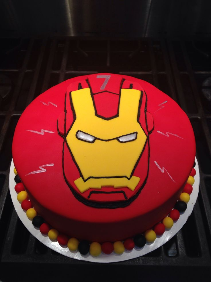 Iron Man Bday Cake
