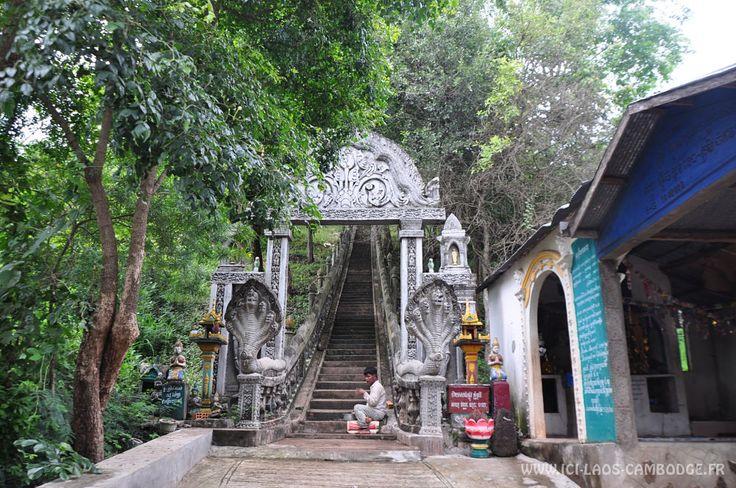 Phnom Srei Escalier