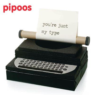 Typemachine ~ je gedicht getypt met je zelfgemaakte typmachine :)