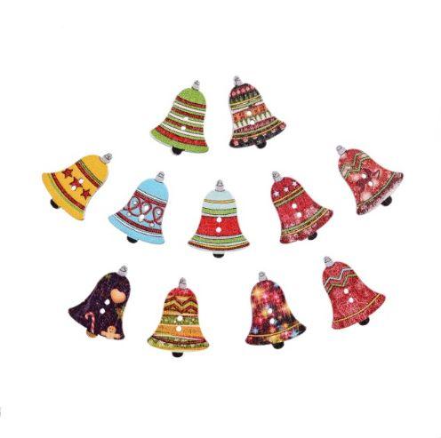 Пуговицы новогодние колокольчики. Нашла здесь - http://ali.pub/4jzi7