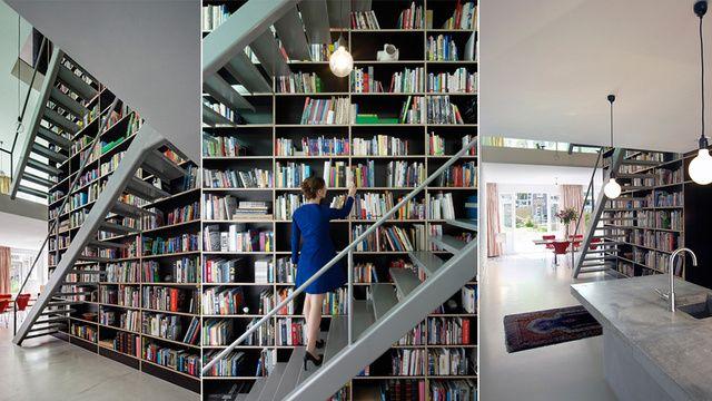 Rotterdam - Book shelfs