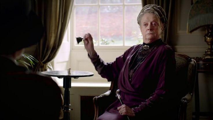 Downton Abbey - Violet Crawley, comtesse douairière de Grantham