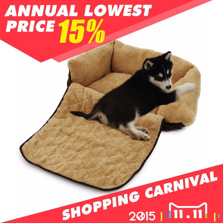 Dog Sofa Pet/Cat Soft Warm Pet Funny Bed Dog Cushion Puppy Sofa 3 Ways Useages