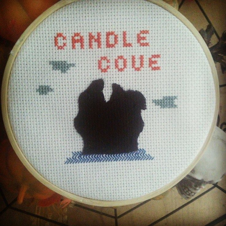 Candle Cove Creepypasta Cross Stitch and Channel Zero show.