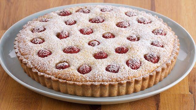 Raspberry Frangipan Tart