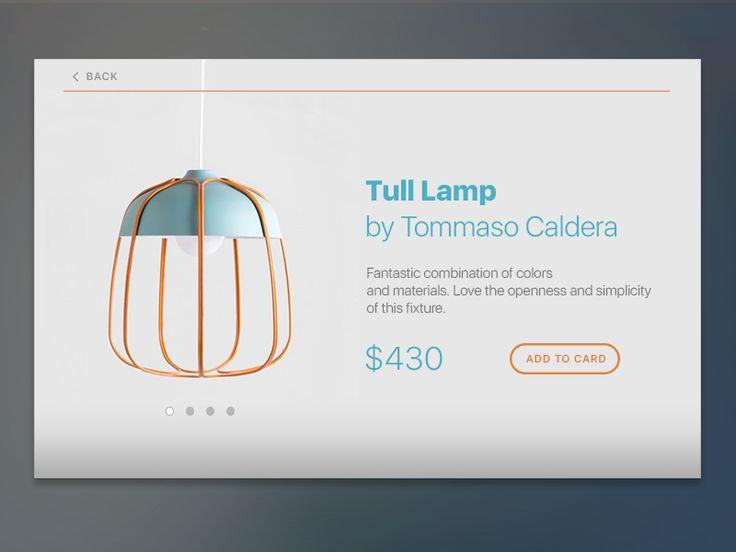 Daily UI Challenge 012 — E-Commerce Shop