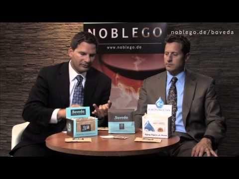 ▶ Boveda Zigarrenbefeuchter - Sean Knutsen und Tim Swail bei Noblego.de - YouTube