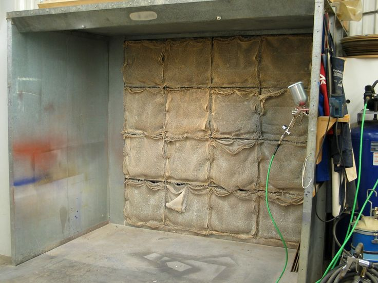 flexner shows you how to make your own spray booth in a small space. Black Bedroom Furniture Sets. Home Design Ideas