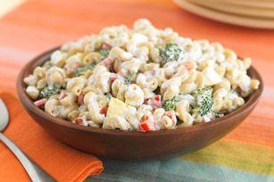 Salade de macaronis repensée recette