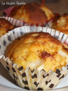 Le nostre Ricette: Muffin con asiago e speck