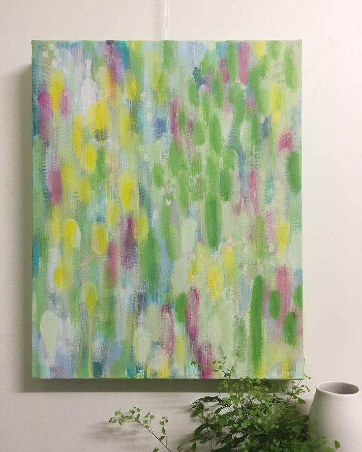 'Spring Dreams' Original Acrylic on Canvas by Kim Miatke