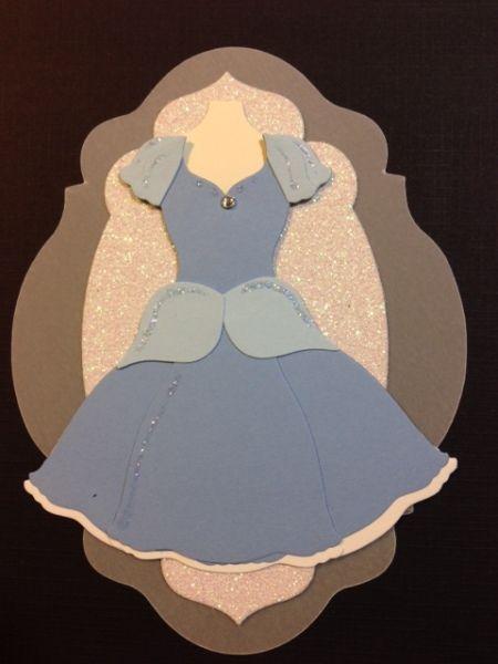 Punch Out Cinderella Dress #DIY #Disney
