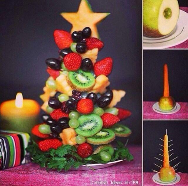 Cute Healthy Christmas Snack!