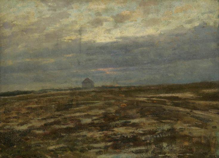 Ferdinand Engelmüller, Podvečer (Bílá hora), [kolem 1904]
