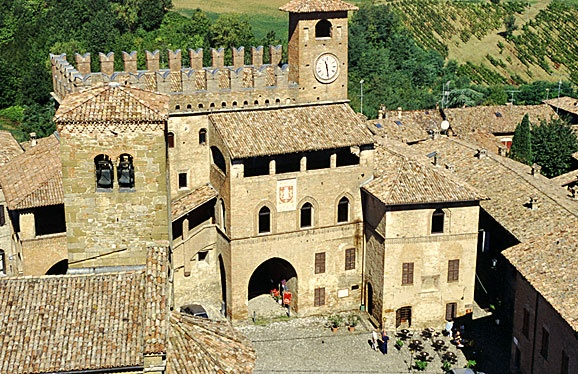Castell'Arquato (Piacenza) Emilia Romagna