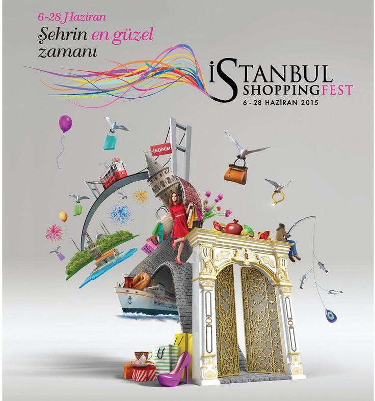 """İstanbul'da Alışveriş Zamanı """"İstanbul Shopping Fest"""""""