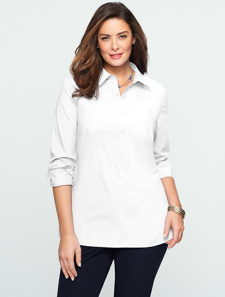 Talbots - Cotton Lawn Shirt | Blouses and Shirts | Woman