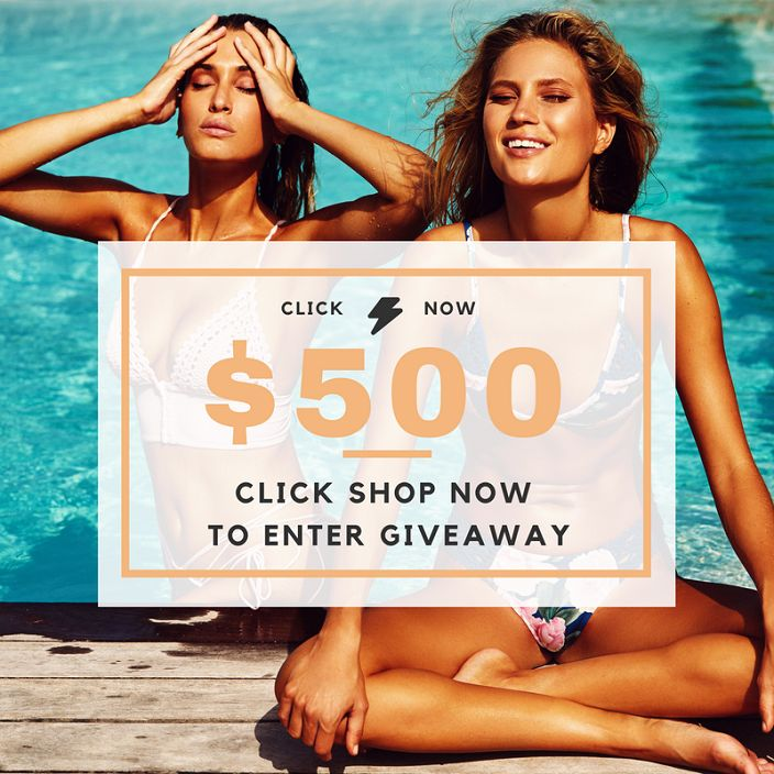 Ends January 20, 2018 Share to be entered to Win! http://swee.ps/VLxPElQqS @Bikiniluxe #Giveaway