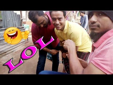 How to Tanim Hassan fall in prank , funny prank video 2018 with vi broth...