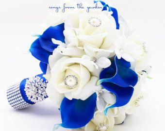 This keepsake custom silk flower bridal bouquet and complete wedding package can be a part of your special day! I can create the bouquets and