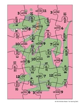 Division Puzzle Covers Divisor 12