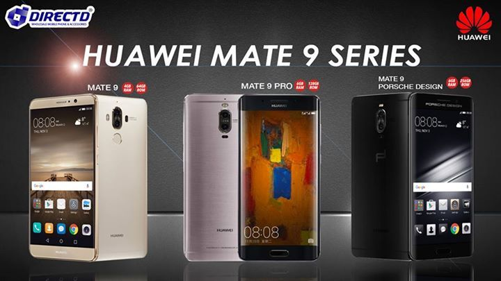 HUAWEI MATE 9 SERIES! ALL MODELS READY STOCK!!  • Mate 9 @ RM2699 or RM224 x 12 months + Gifts worth RM588   • Mate 9 Pro @ RM3399 or RM283 x 12 months + Gifts worth RM706  • Mate 9 Porsche Design(limited edition) @ RM6999 or RM583 x 12 months  Online order 👉 http://www.directd.com.my/search?q=mate+9+&x=14&y=12  Or simply walk into our store:  DirectD Gadget Mega Store Lot 11, Jln 51A/219, PJ (next to Mazda service Centre, same row with Avon and Hong Leong bank, along side Federal Highway)…