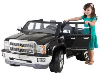 Mini Carro Elétrico Infantil Pickup Chevy - Silverado 2 Marchas Emite Sons 12 Volts Biemme