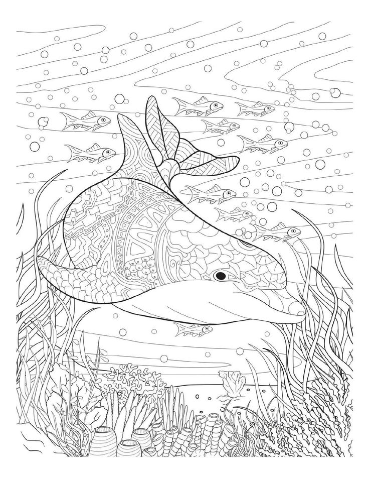376 best Coloring pages to print - Underwater images on Pinterest ...