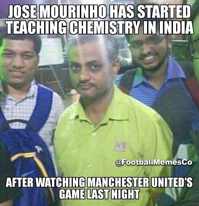 Jose Mourinho Mufc