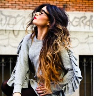 Ombré hair!: Shoes, Hair Colors, Ombre Hair, Long Hair, Outfit, Red Lips, Longhair, Hairstyle, Hair Style
