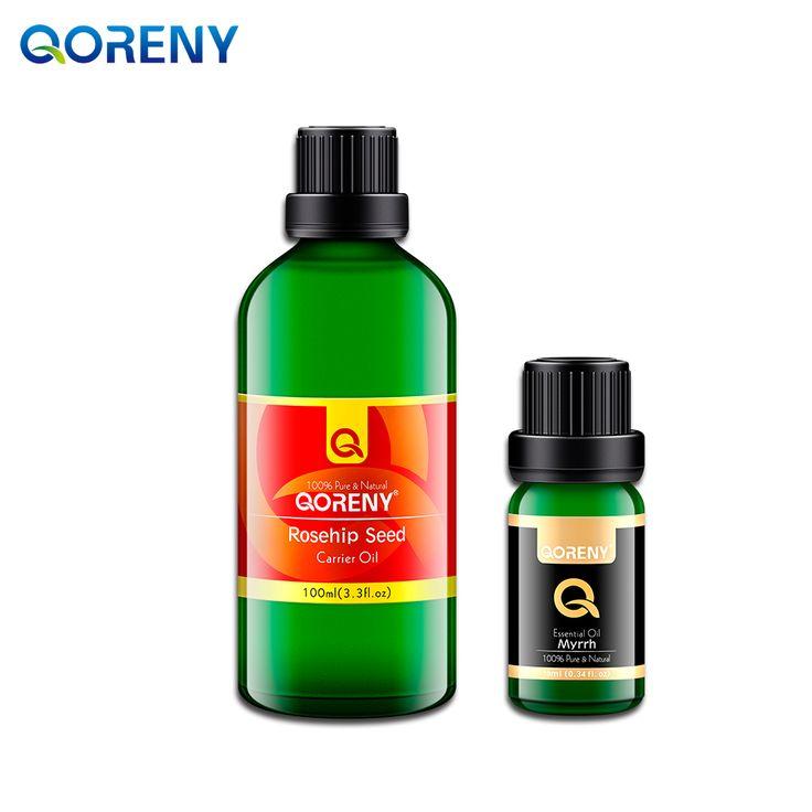 Rosehip Oil 100ML  + myrrh essential oil 10ML