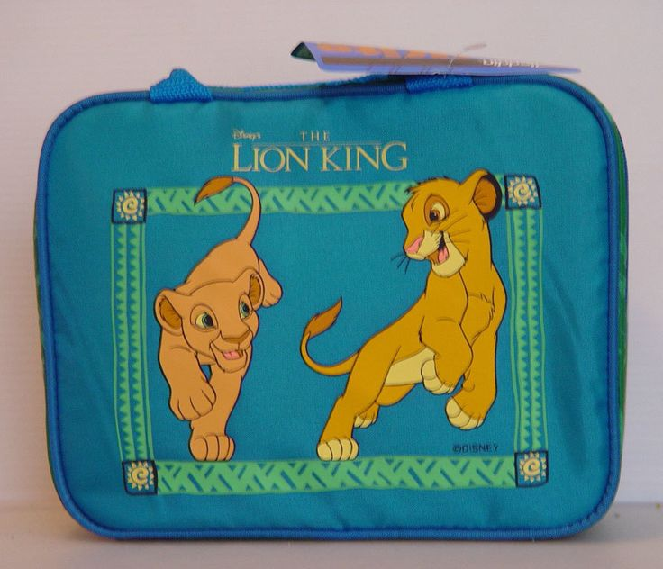 A personal favorite from my Etsy shop https://www.etsy.com/listing/477296033/lion-king-lunch-box-thermos-new-with