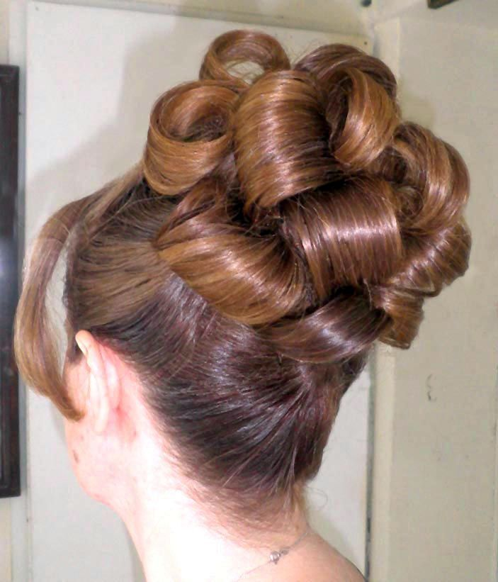 how to curl your hair for homecoming