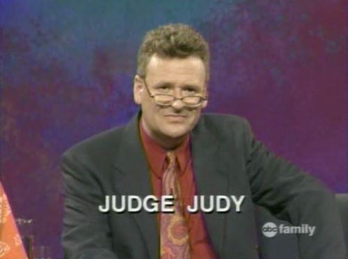 Judge Greg Proops Judy