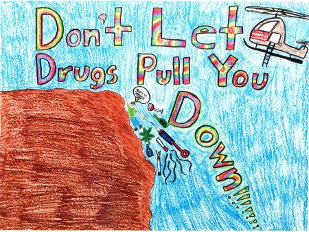 Anti drugs posters