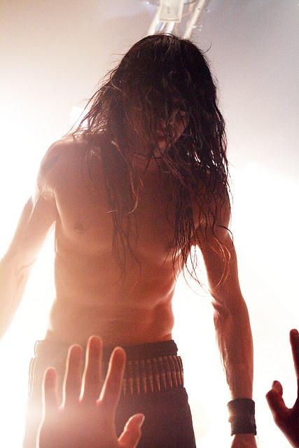 Strange, Beautiful Frost, drummer of Satyricon/1349 by mithrandir3, via Flickr