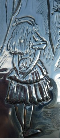 Alice close up. Pewter Concepts